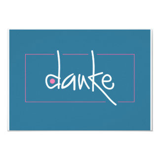 Dankeのギフトのための小さいエンクロージャカード 8.9 X 12.7 インビテーションカード