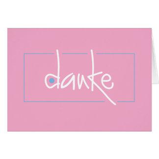 Dankeはあらゆる言語の感謝していしています ノートカード