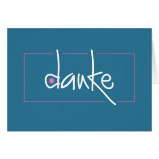 Dankeはあらゆる言語メッセージカードの感謝していしています ノートカード