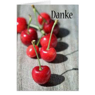 Danke -ドイツ語のありがとう カード