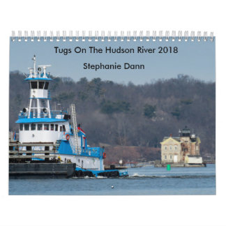 "Dann Ocean Towing Tug---""STEPHANIE DANN"" カレンダー"