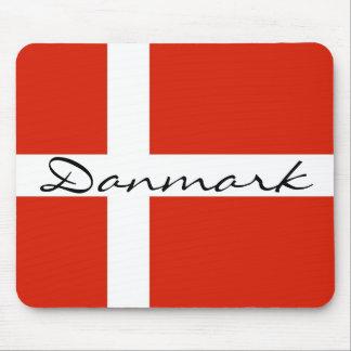 DannebrogのDanmark マウスパッド