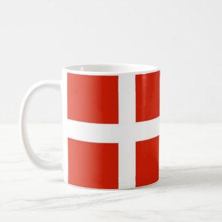 Dannebrog; デンマークの公式の旗 コーヒーマグカップ