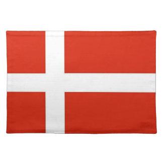 Dannebrog; デンマークの公式の旗 ランチョンマット