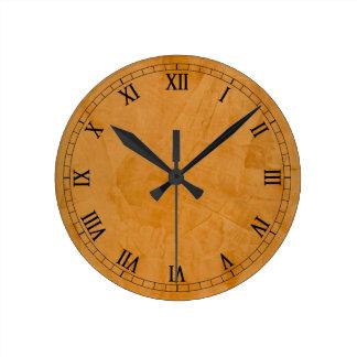Danteの模造のな終わりのローマ数字 ラウンド壁時計