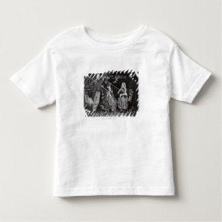 Dante、クリスティーナ、フランシスおよびウィリアムRossetti トドラーTシャツ