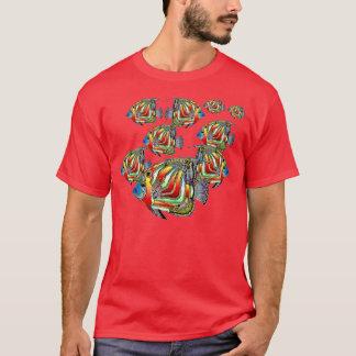 Dantesの海のAngelfish Tシャツ