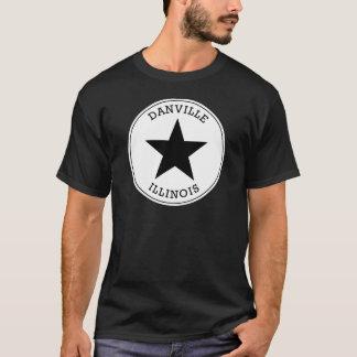 DanvilleイリノイのTシャツ Tシャツ