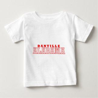 Danville、アラバマ都市デザイン ベビーTシャツ