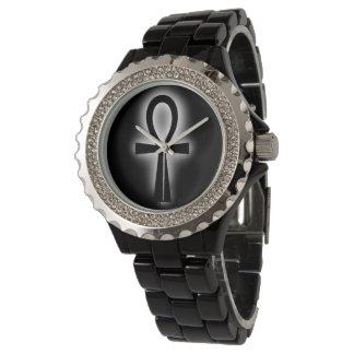 DAPの服装によるAnkhの黒い腕時計 腕時計