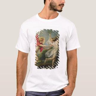 Daphneおよびアポロ(油) Tシャツ