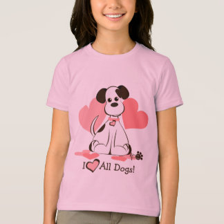 Daphne採用された犬 Tシャツ