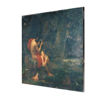 DaphnisおよびChloe 1824-25年 キャンバスプリント
