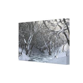 Dapplewood (冬) キャンバスプリント