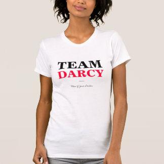 DarcyをジェーンAustenの人との2色団結して下さい Tシャツ