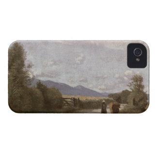 Dardagny、朝、c.1853 (キャンバスの油) Case-Mate iPhone 4 ケース