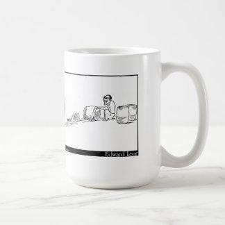 Dargleの老人がありました コーヒーマグカップ