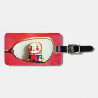 Dariaのmatryoshkaの人形の荷物のラベル、ロシアのな人形 ラゲッジタグ
