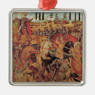 Dariusとアレキサンダー大王間の戦い メタルオーナメント