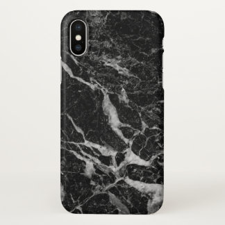 Dark Gray Marble Texture iPhone X ケース