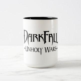 Darkfallの不道徳な戦争はマグに2ある調子を与えました ツートーンマグカップ