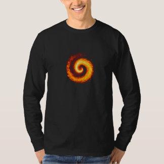 Darkfall不道徳な戦争の螺線形の基本的な長袖 Tシャツ