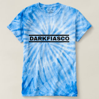 Darkfiascoの青いタイは死にます Tシャツ