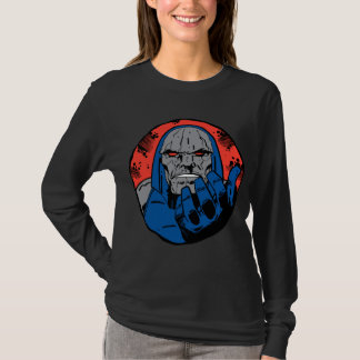 Darkseidのヘッド打撃2 Tシャツ