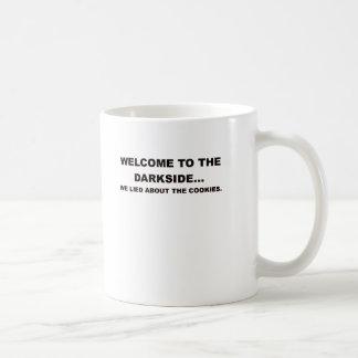 DARKSIDE.pngへの歓迎 コーヒーマグカップ
