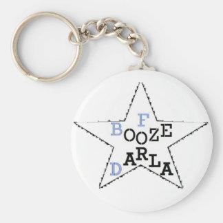 Darlaのための酒宴-動揺してな星 キーホルダー