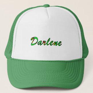 Darleneの緑の網の帽子 キャップ