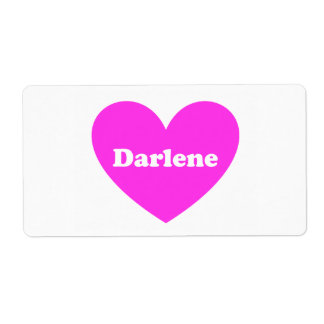Darlene ラベル