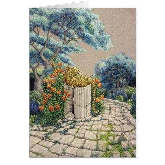 Darlene P. Coltrain著ヒョウの庭、 カード