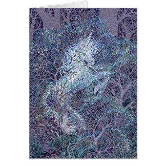 Darlene P. Coltrain著ユニコーンの森Deva、 カード