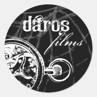 Darosのフィルムのステッカー ラウンドシール