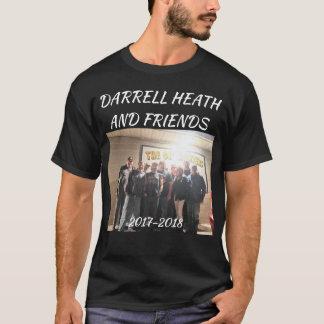 DARRELLのヒースおよび友人バンドT Tシャツ