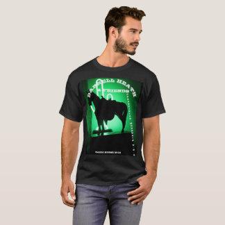 DARRELLのヒース及び友人の迷信山T Tシャツ