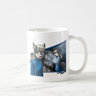 Darrik: かすかに光る発見 コーヒーマグカップ