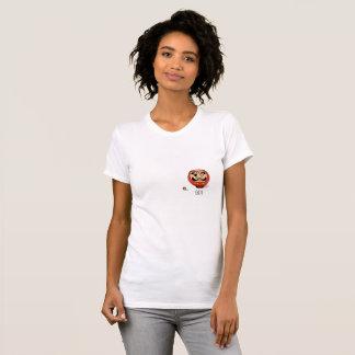 Darumaの人形のTシャツドーナ Tシャツ