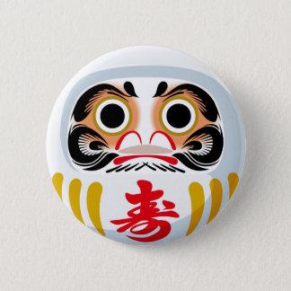 Darumaの人形 5.7cm 丸型バッジ