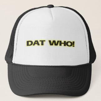 [Dat! ニュー・オーリンズの白熱]トラック運転手の帽子/帽子 キャップ