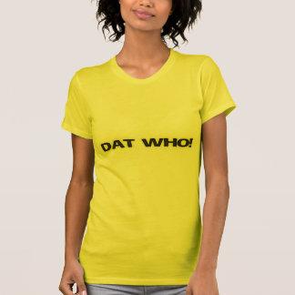 [Dat! ニュー・オーリンズの白熱]女性のSSのTシャツ Tシャツ