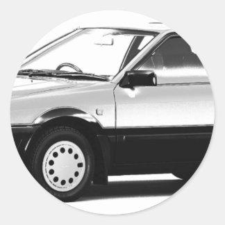 Datsun日産のパルサーEXAターボ1984年 ラウンドシール