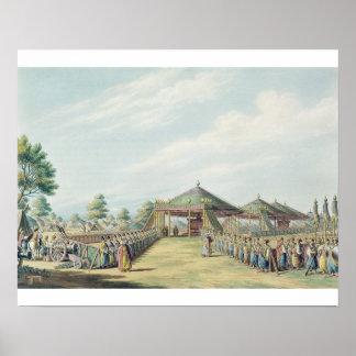 Daud-Pasciaのパブのキャンプ。 ウィリアムのワット、18 ポスター