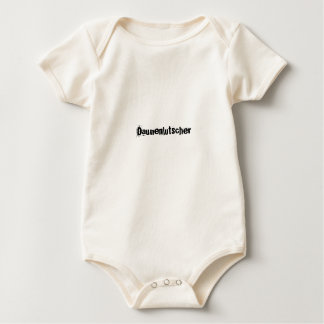 Daumenlutscherの乳児のクリーパー ベビーボディスーツ