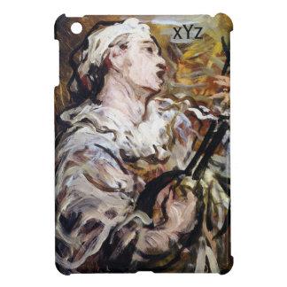 DaumierのPierrotのカスタムなモノグラムのケース iPad Miniカバー