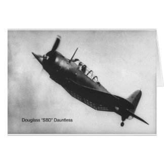 Dauntlessダグラス(SBD) カード