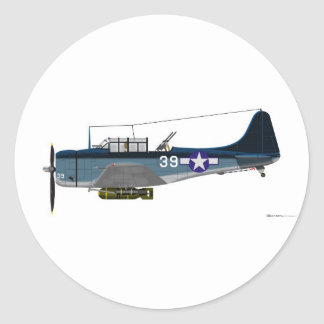 DauntlessダグラスSBD-5 ラウンドシール