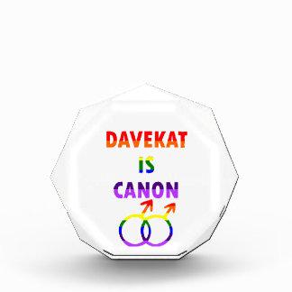 Davekatはですキャノン(v2) 表彰盾