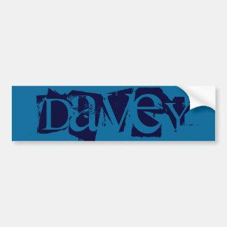 Davey バンパーステッカー